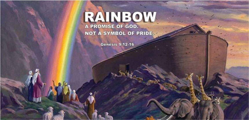 Rainbow A Promise Of God Not A Symbol Of Pride Scripture Truth